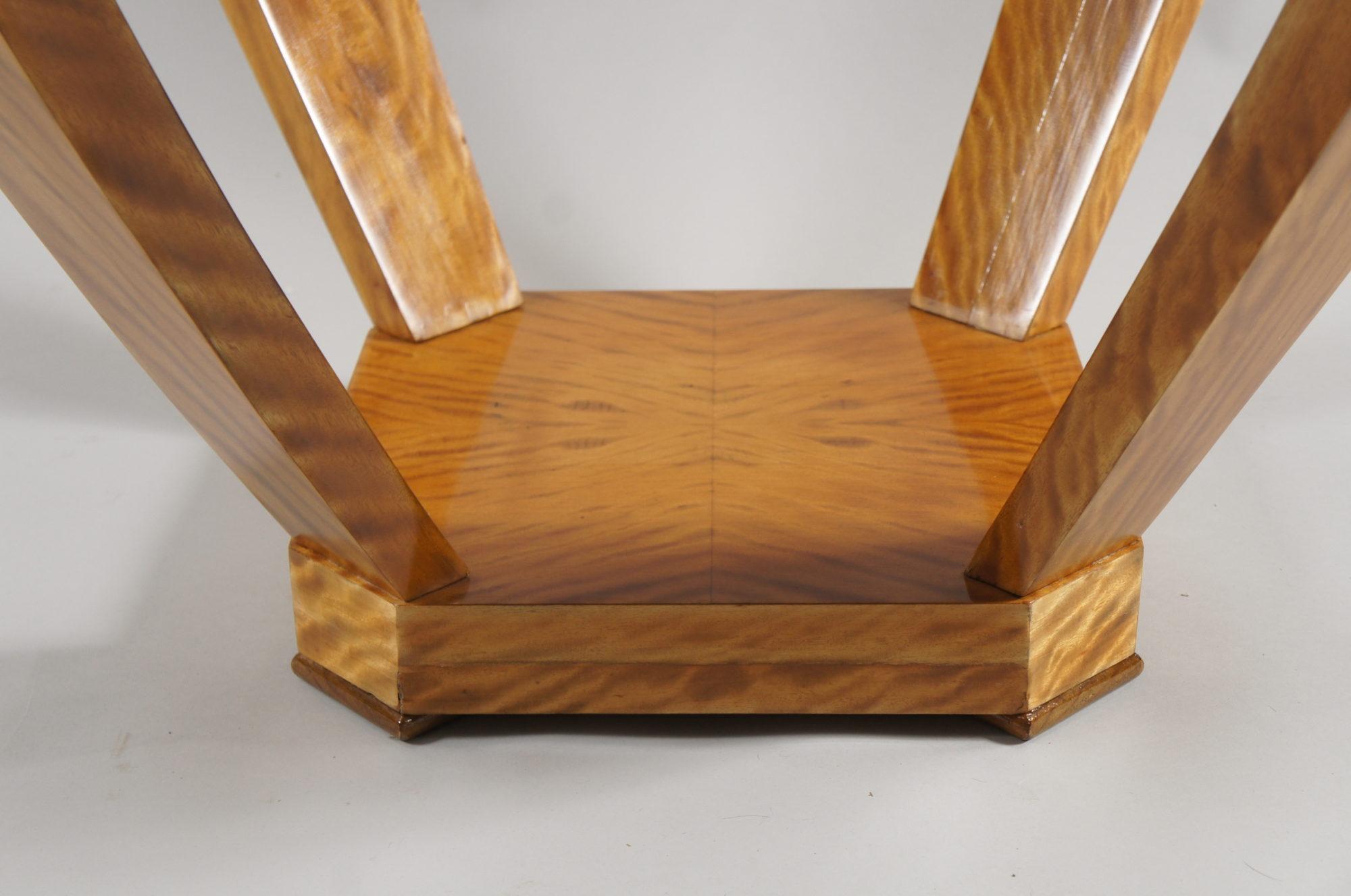 Belgian Lemonwood Side Table