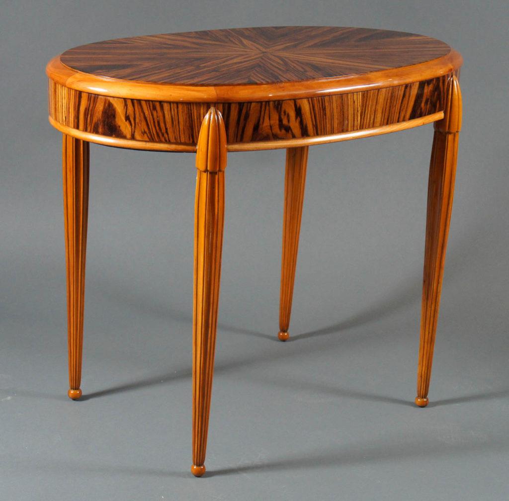 Belgian Macassar Wood Table