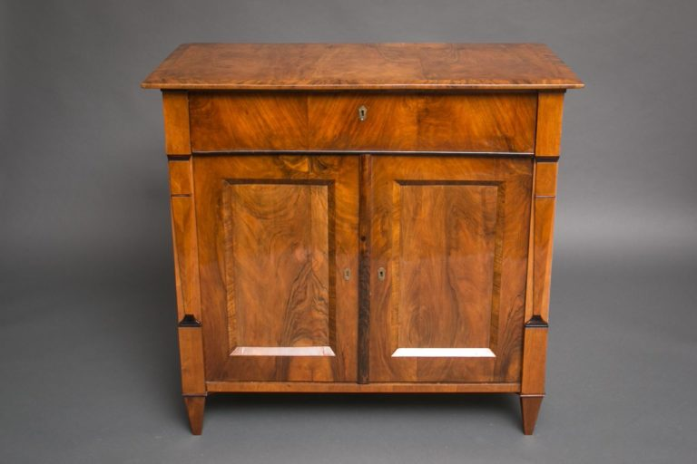 Biedermeier Walnut Chest
