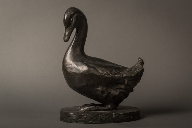 Bronze Duck by Modern Art Foundry, NYC