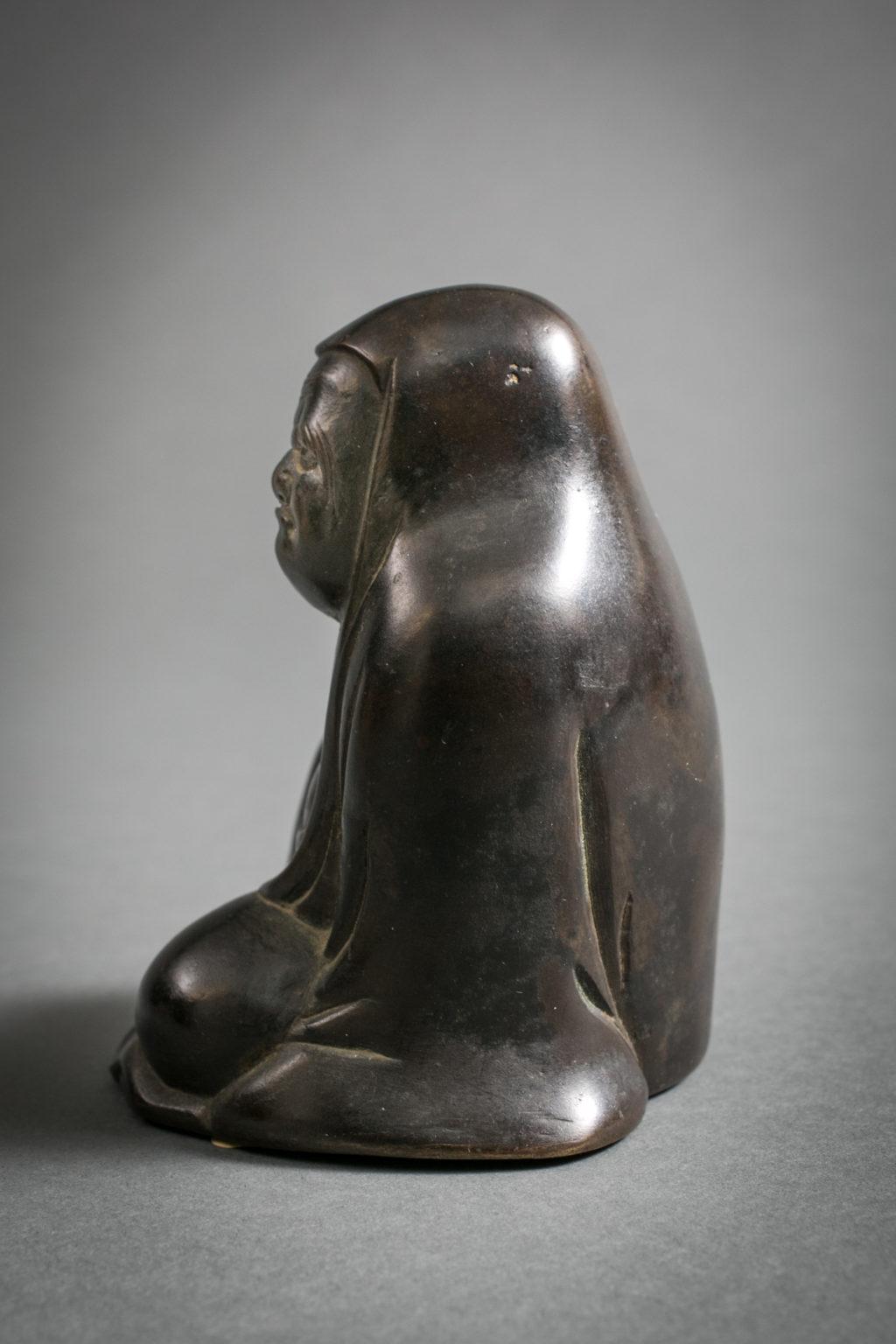 Bronze Figure of Daruma