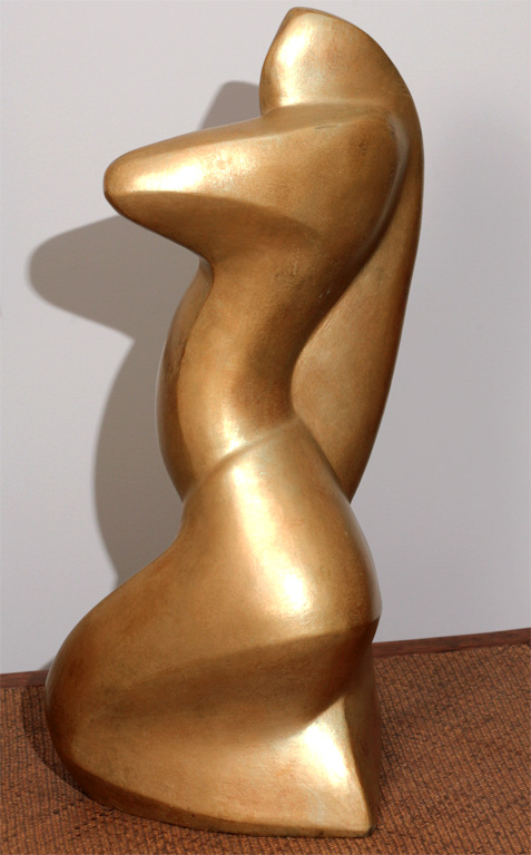 Bronze Sculpture of a Woman Attributed to Boris Lovett – Lorsky