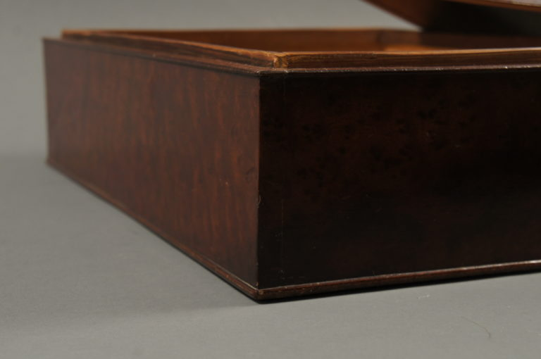 Burl Wood Box