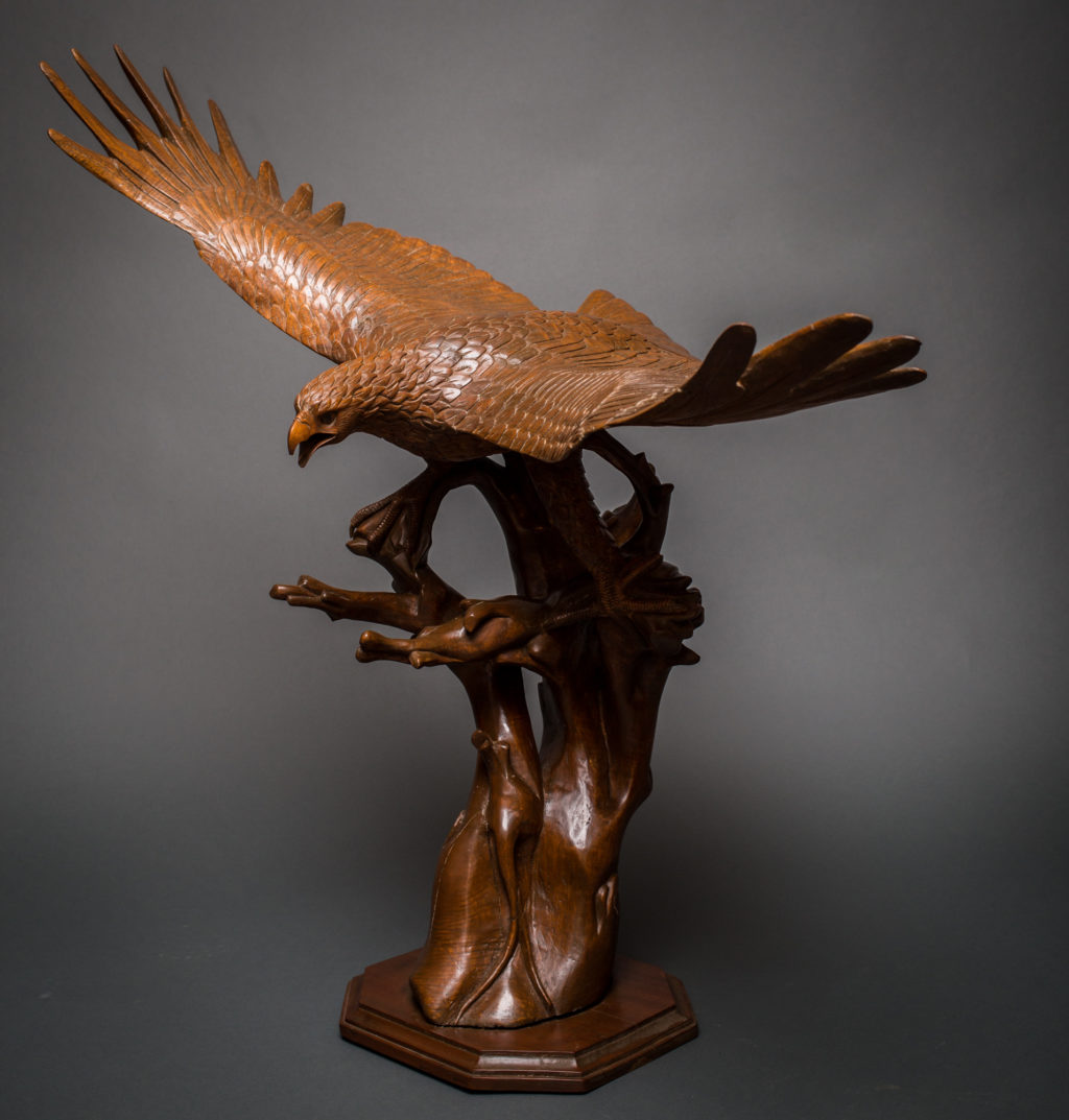 Carving of an Eagle