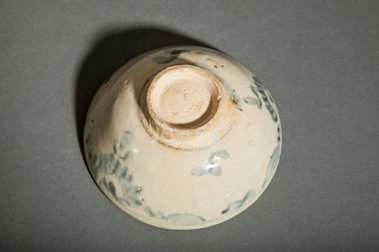 Chinese Blue and White Tea Bowl. Sung.