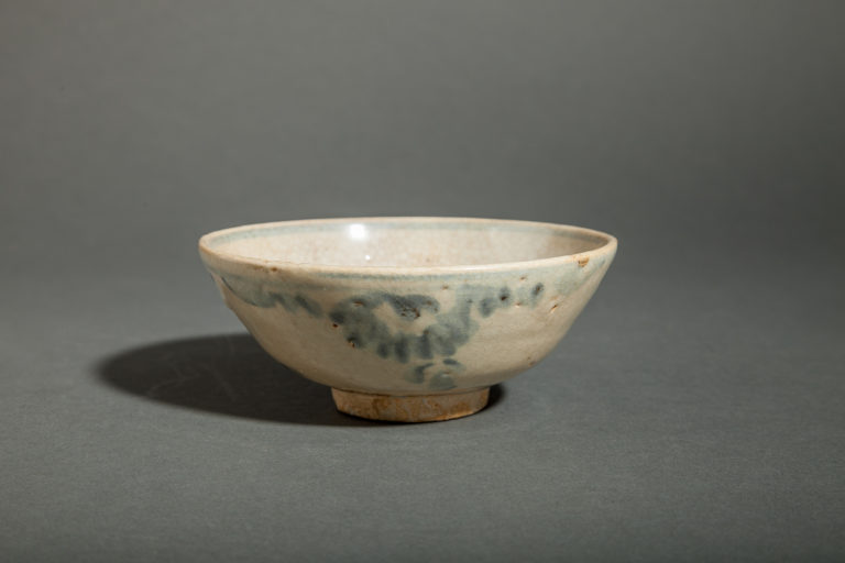 Chinese Blue and White Tea Bowl, Sung Dynasty
