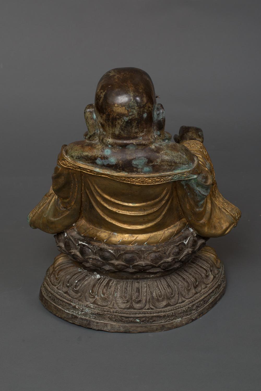 Chinese Bronze Fu Xing