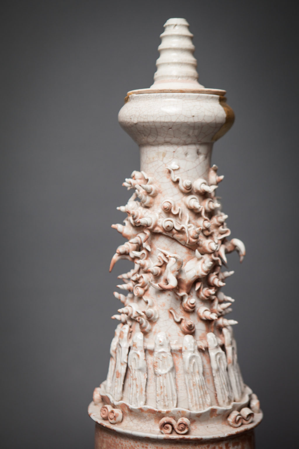 Chinese Burial Flask