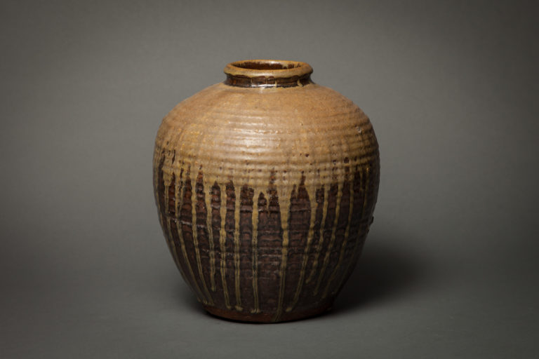 Chinese Early 20th Century Ash-Fired Storage Jar