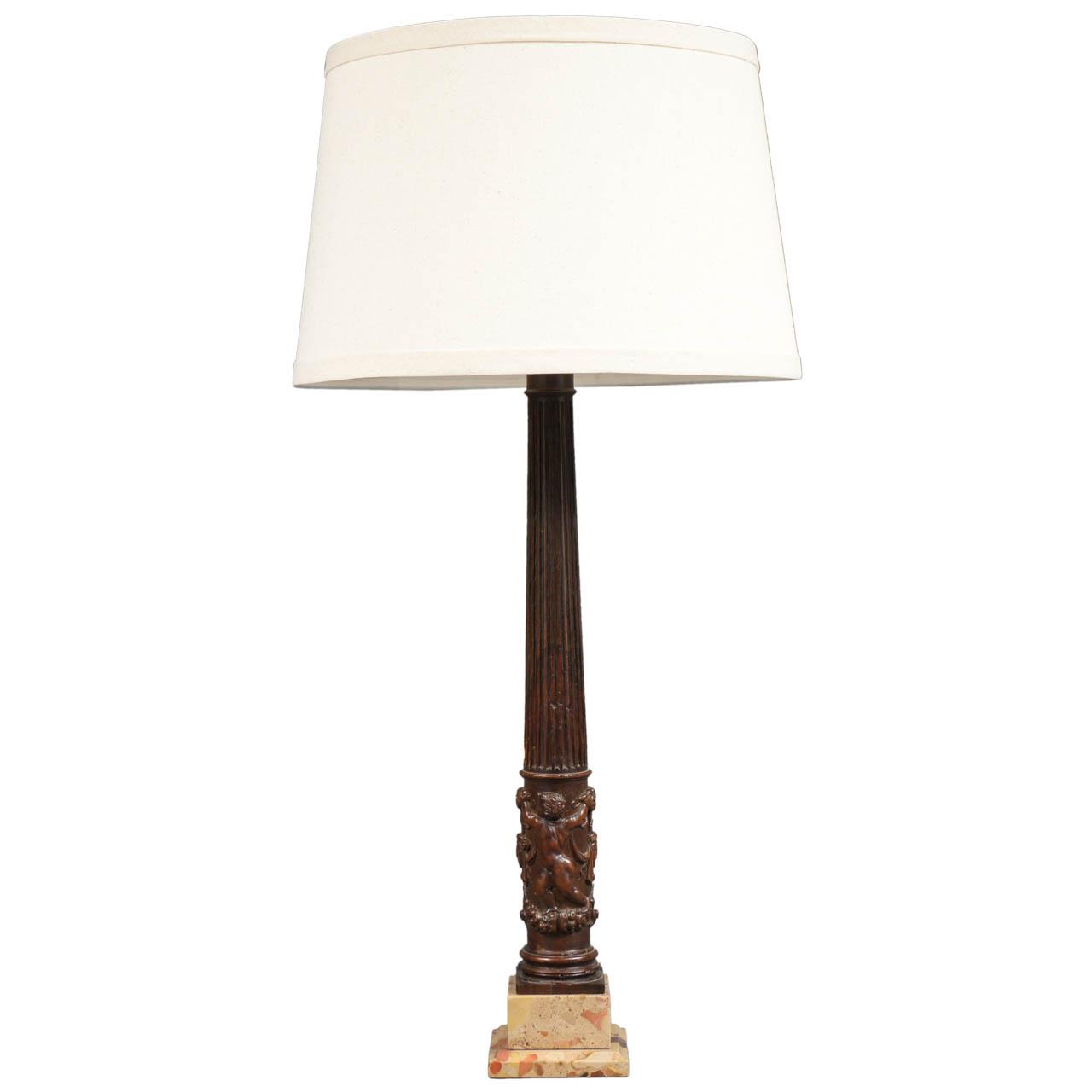 Single Italian Table Lamp