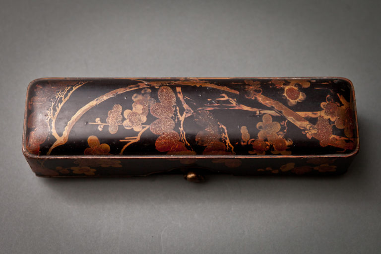 Japanese 18th Century Lacquer Brush Box