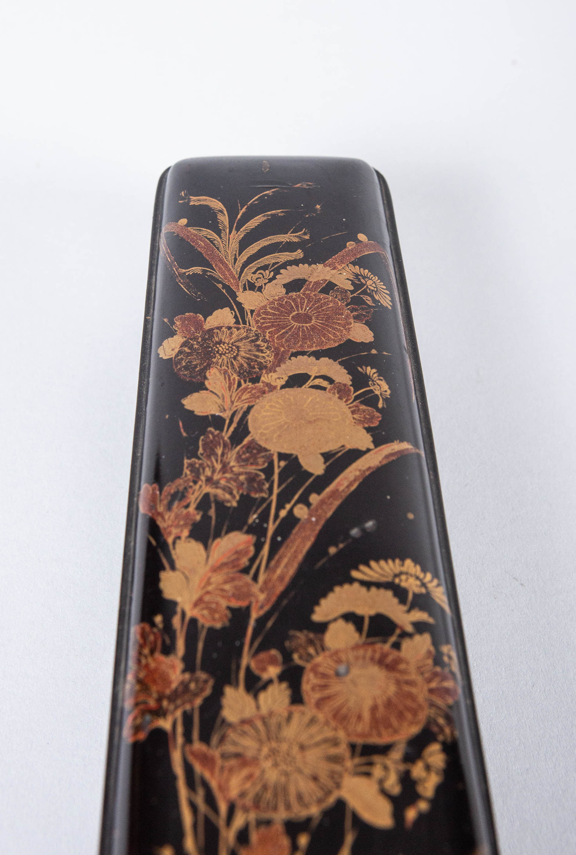 Japanese 18th Century Lacquer Lute Box