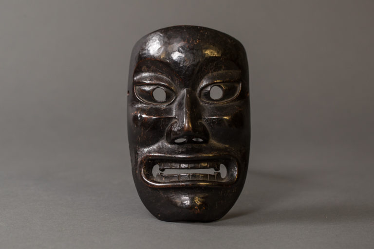Japanese 18th Century Wood Noh Mask