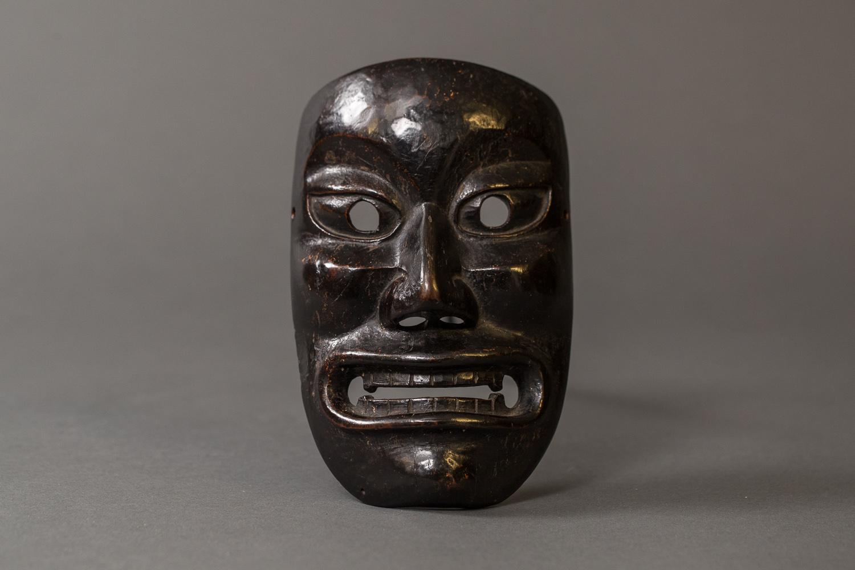 Japanese 18th Century Wood Noh Mask
