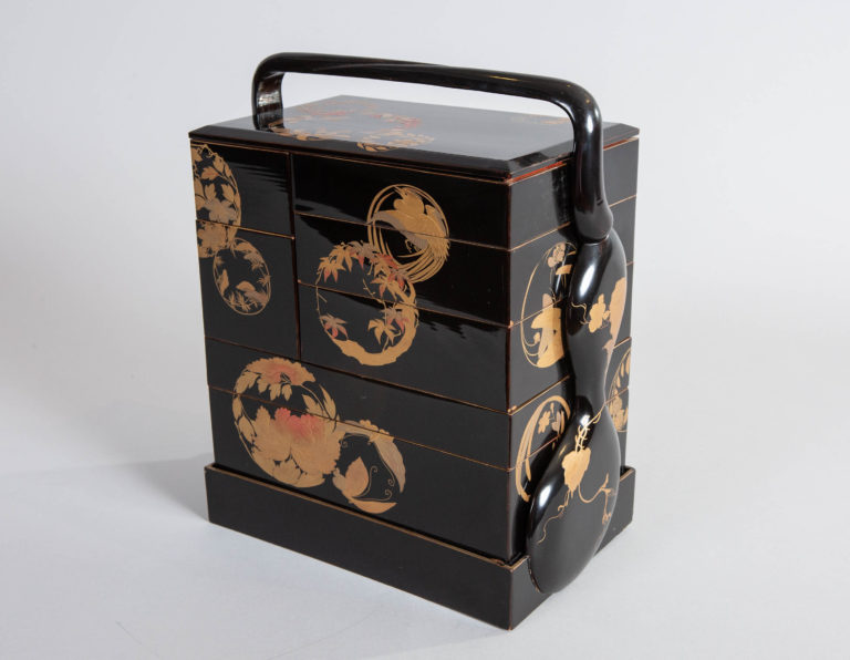 Japanese 19th Century Bento (Food Storage Boxes)
