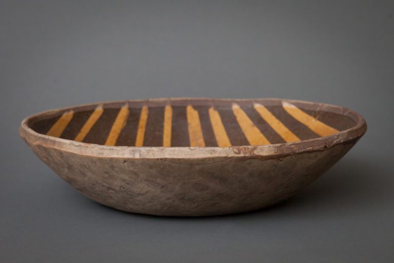 Japanese 19th Century Striped Bowl