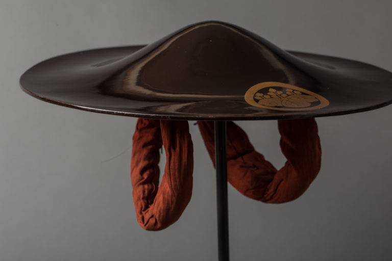 Japanese Antique Ceremonial Samurai Hat