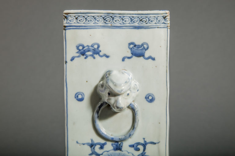 Japanese Antique Sometsuke Ceramic Vase