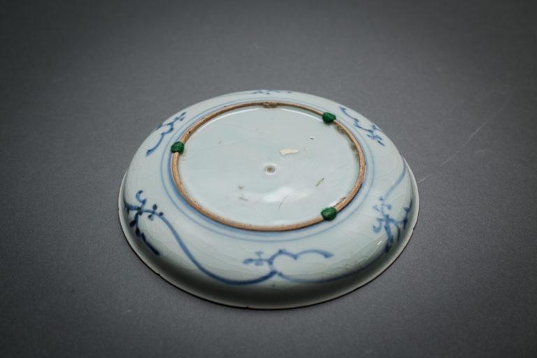 Japanese Blue and White 19th Century Imari with Horse