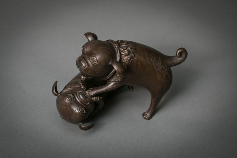 Japanese Bronze Puppies