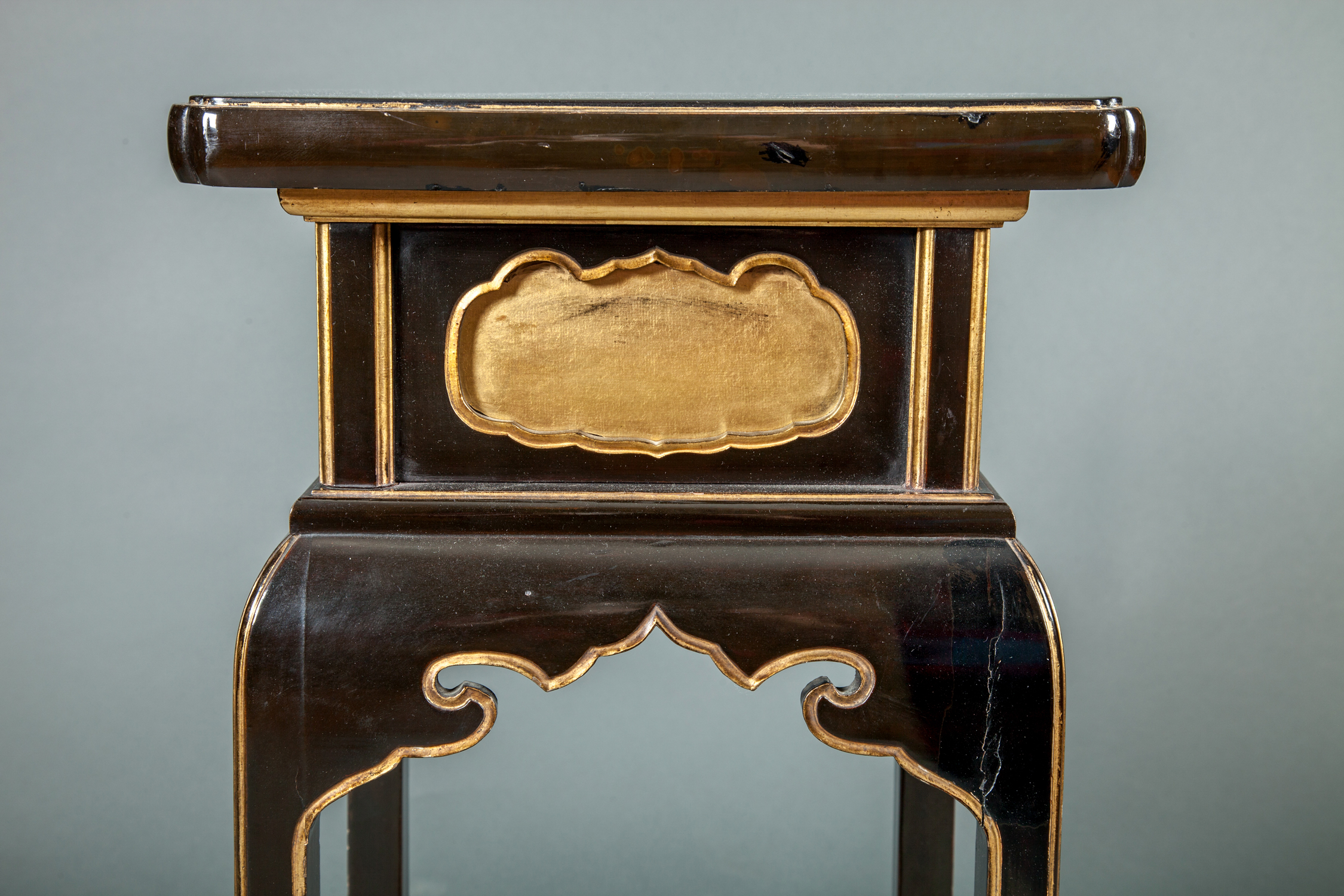 Japanese Black and Gold Temple Table