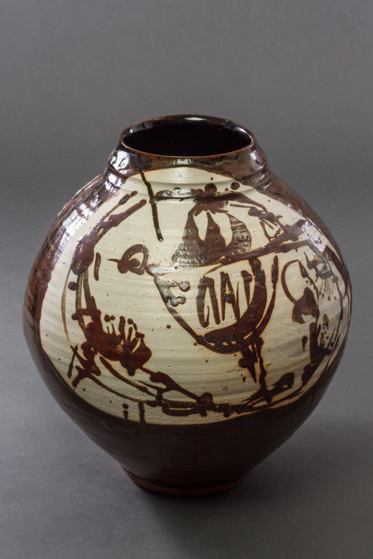 Japanese Earthenware Vase