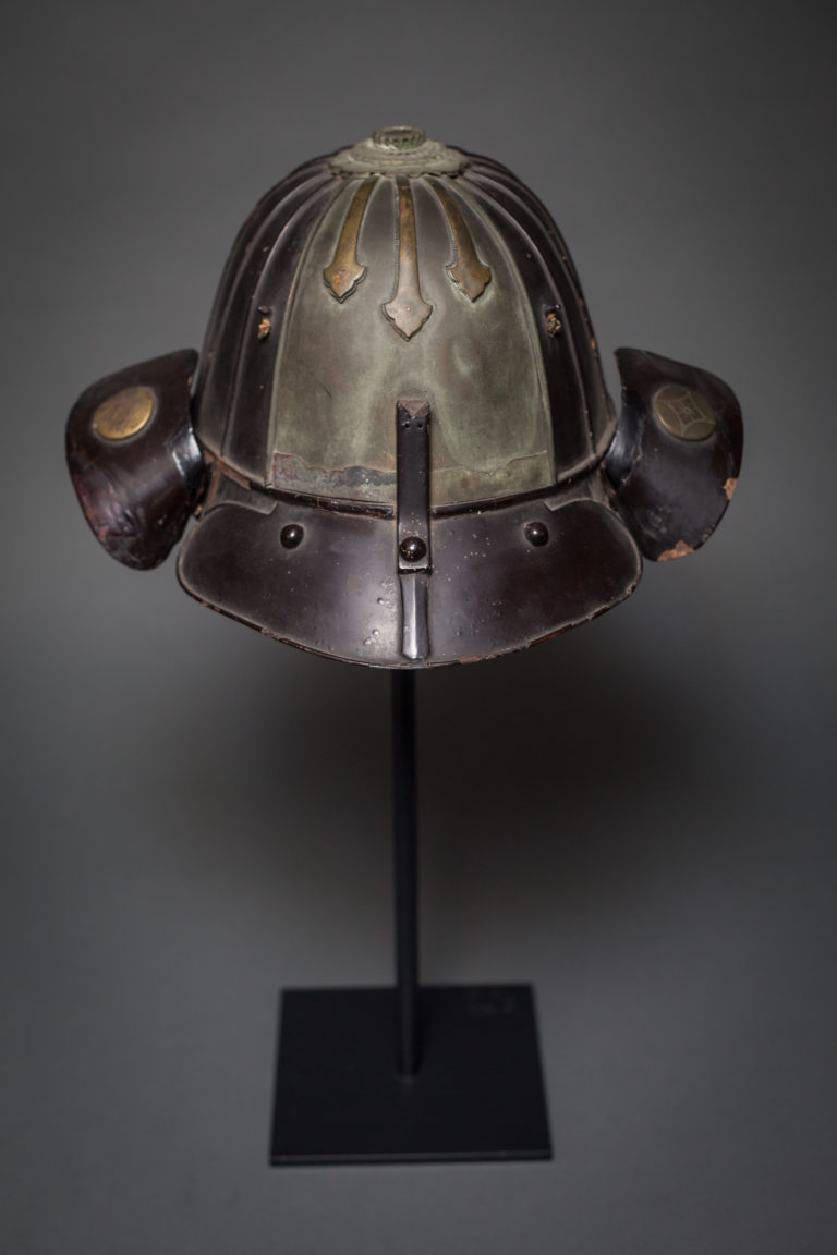 Japanese Helmet on Stand