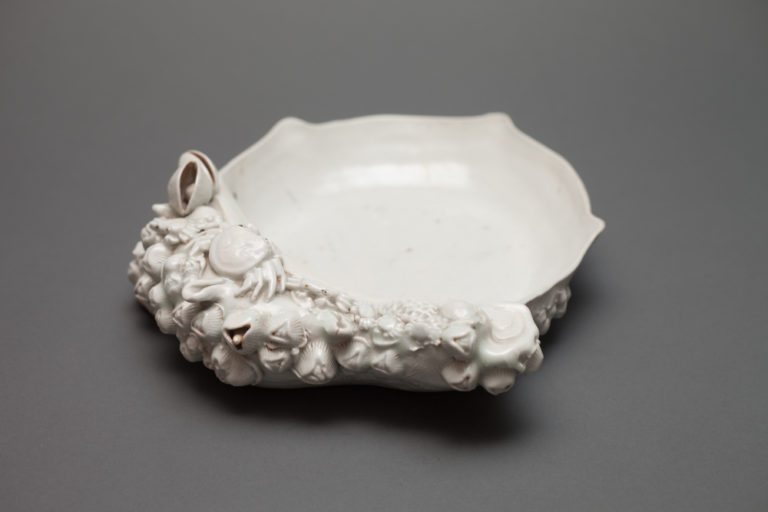 Japanese Hirado Seashell Plate