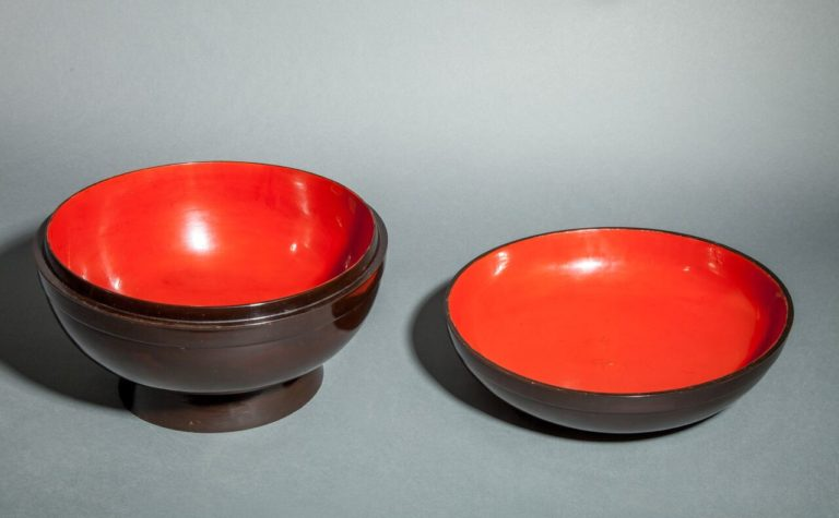 Japanese Lacquer Box for Sweets