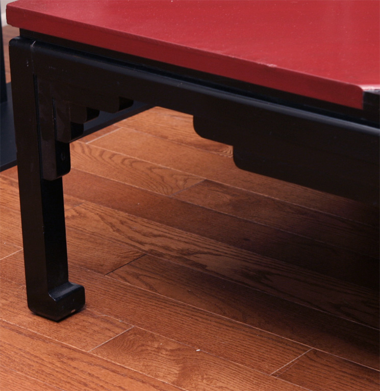 Japanese Lacquer Coctail Table