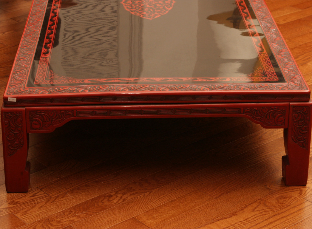 Japanese Lacquer Coffee Table