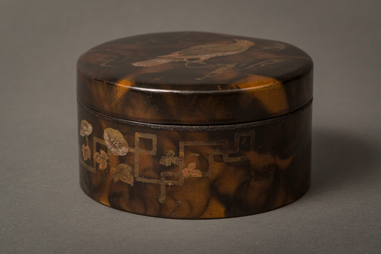 Japanese Lacquer Cosmetic Box