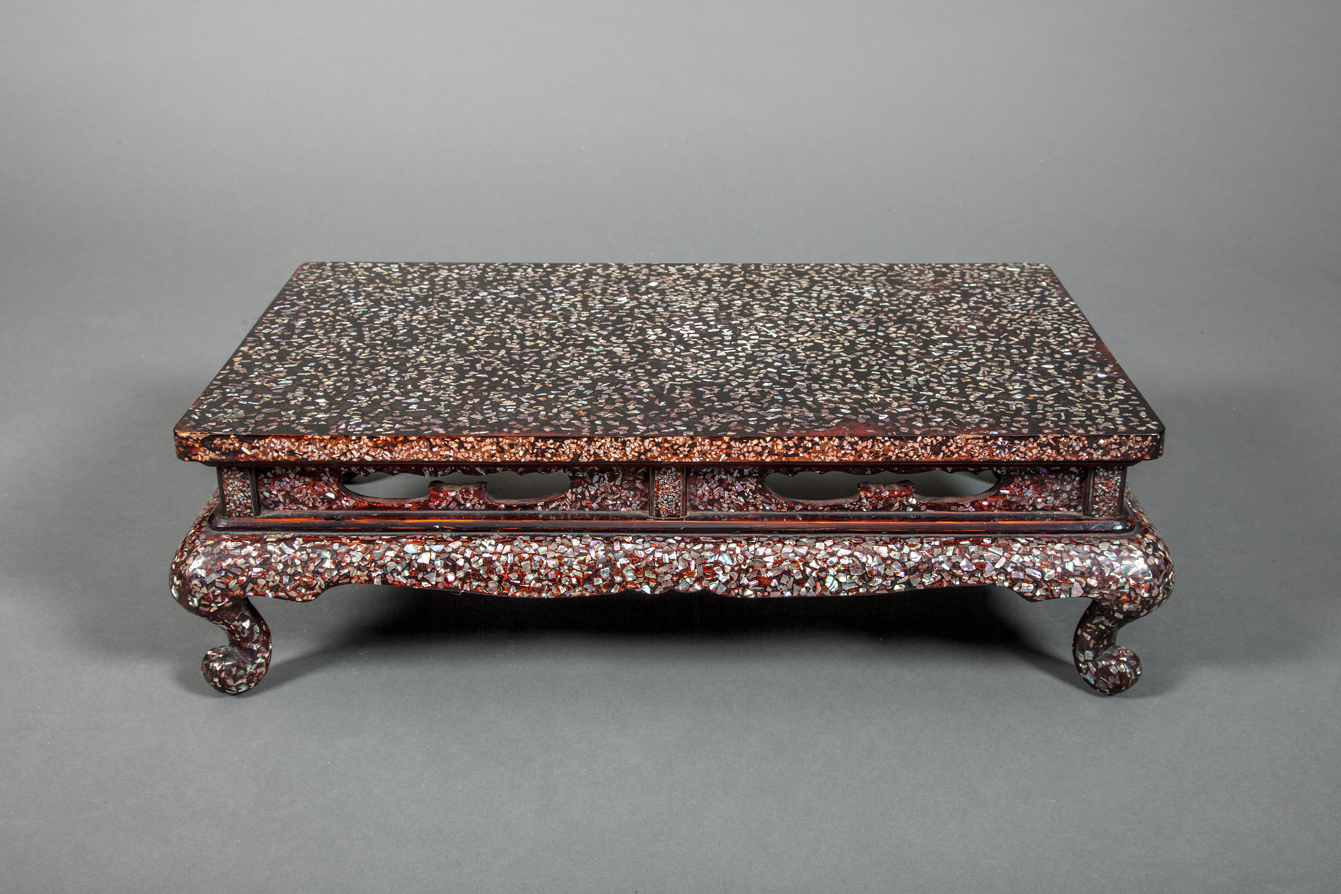 Japanese Lacquered Wood Table