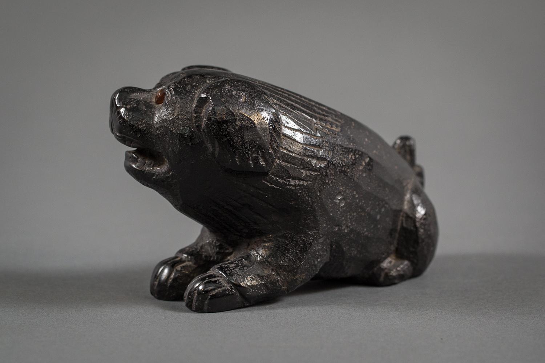 Japanese Sculpture of a Puppy