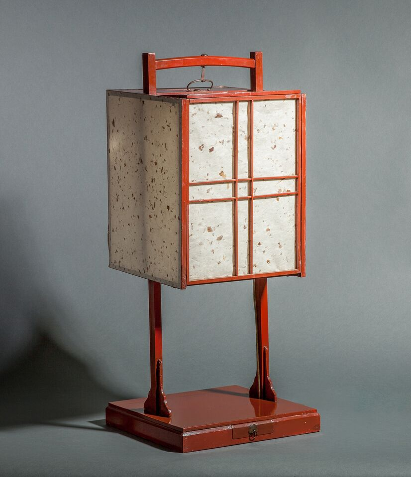 Japanese Andon (Oil Lamp)