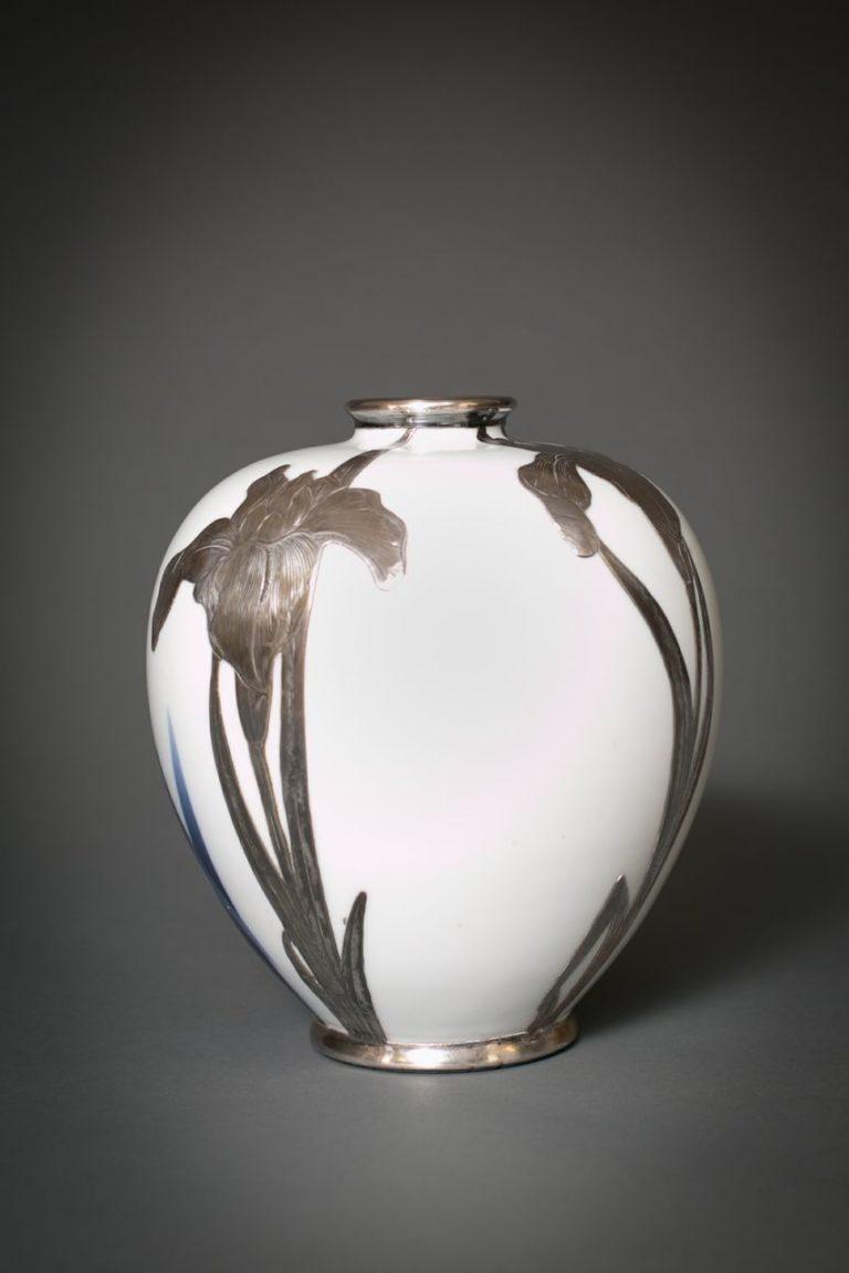 Japanese Studio Porcelain Vase