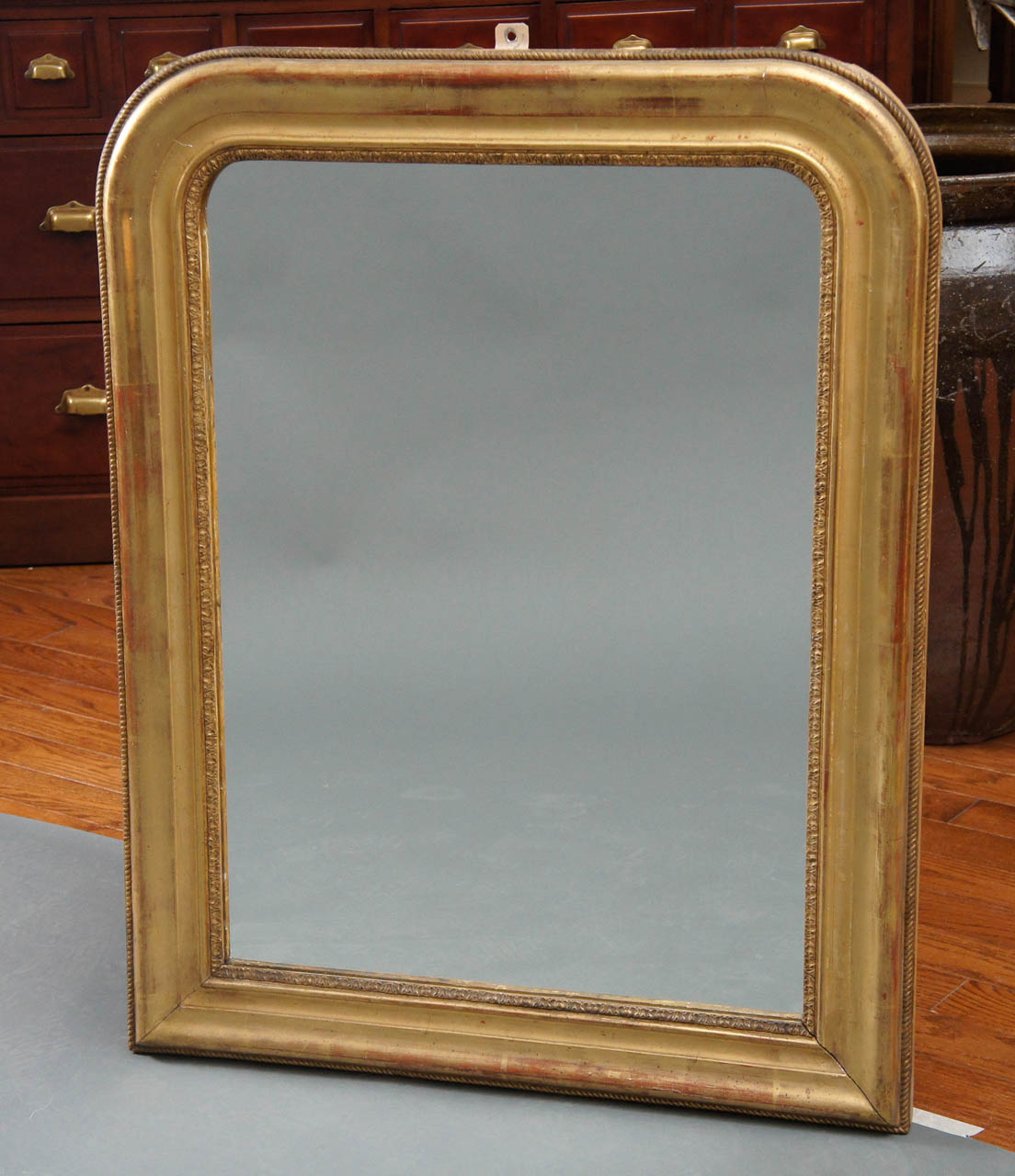 Louis Phillipe Giltwood Mirror
