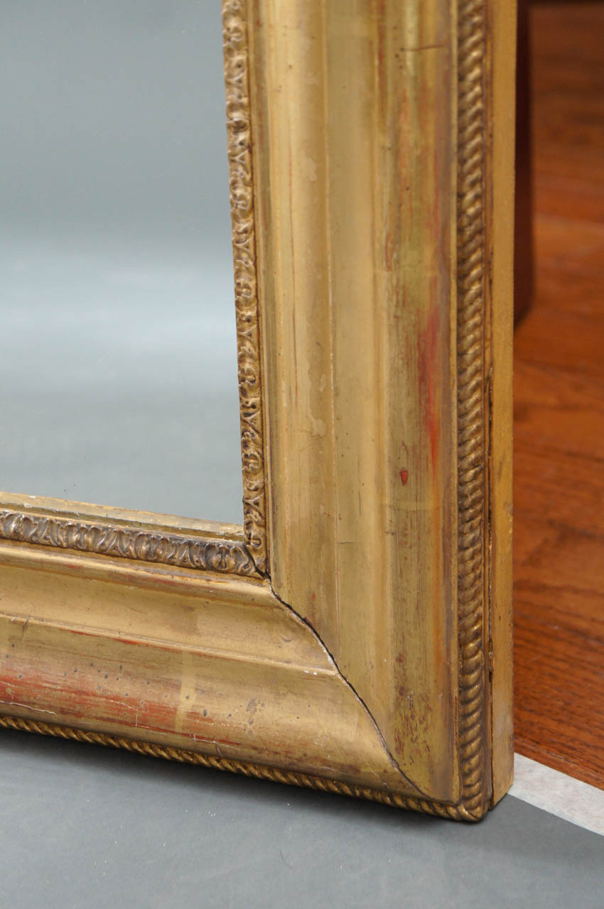 Louis Phillipe Giltwood Mirror
