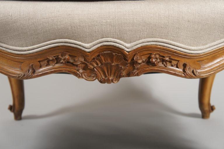 Louis XV Style Arm Chair.
