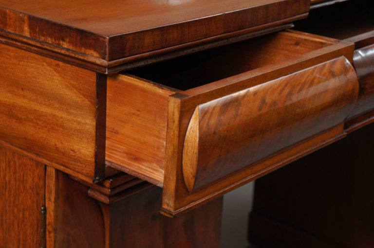 Mahongany William IV English Double Pedastal Sideboard