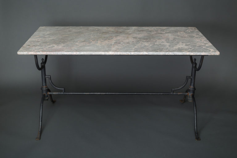 Marble Top, Iron Base table