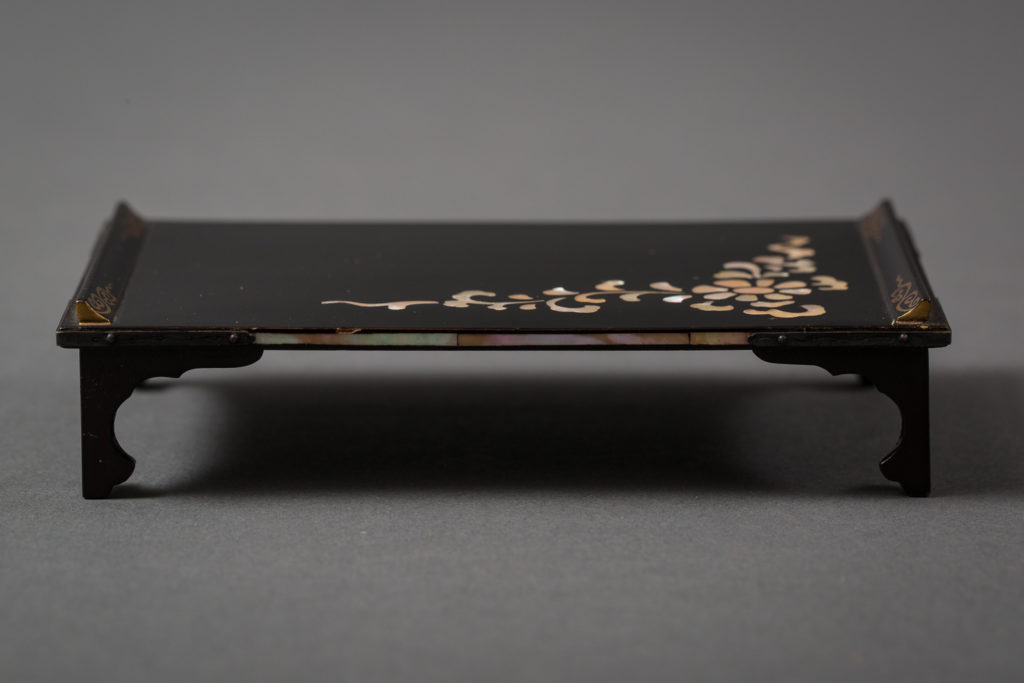 Miniature Japanese Lacquer Table