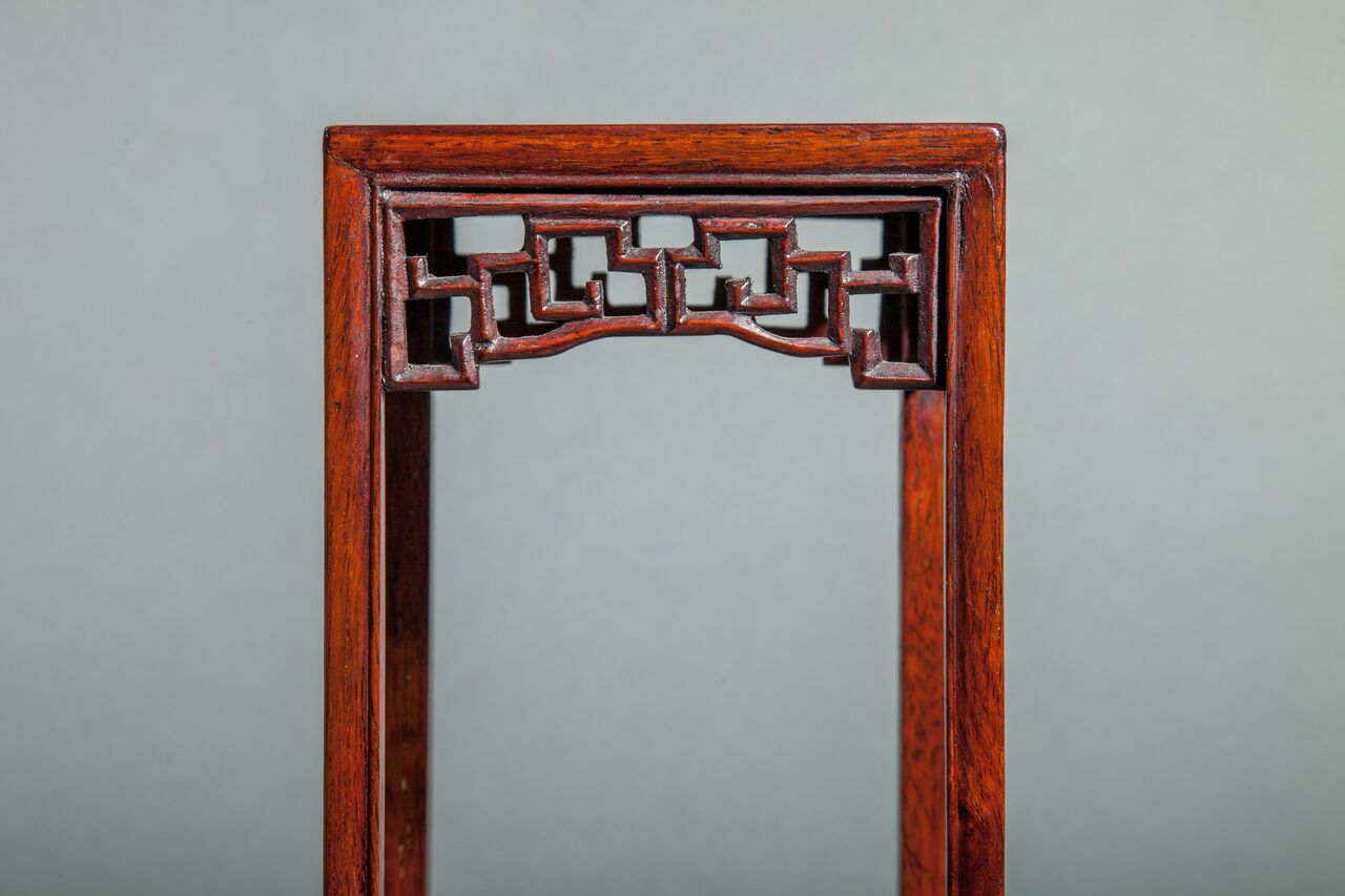 Miniature Rosewood Stand