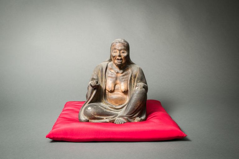 Ono-No-Komatchi Wood Figure