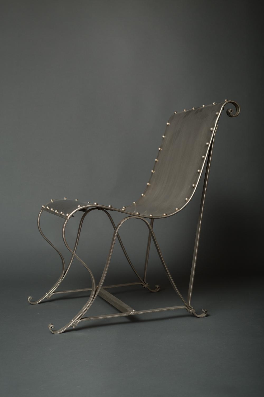 Pair of Steel Chairs