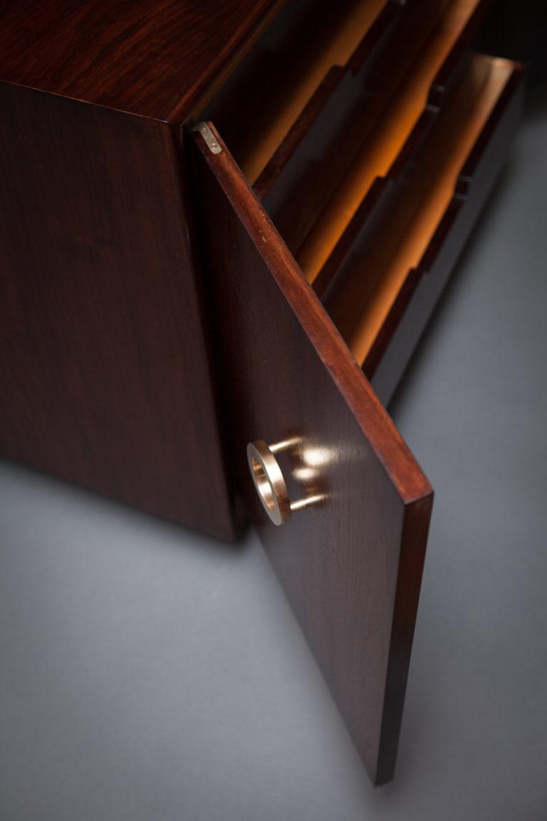 Pair of American Art Modern cabinets.
