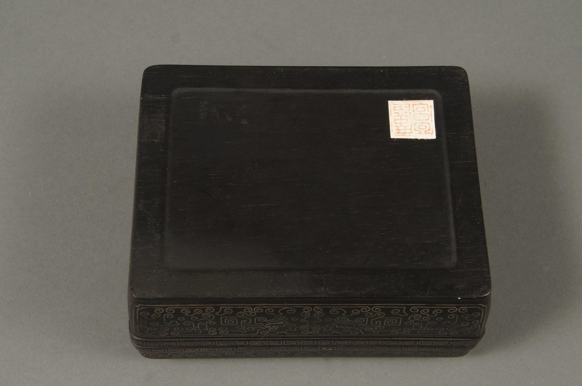 Pair of Ebony Wood Boxes