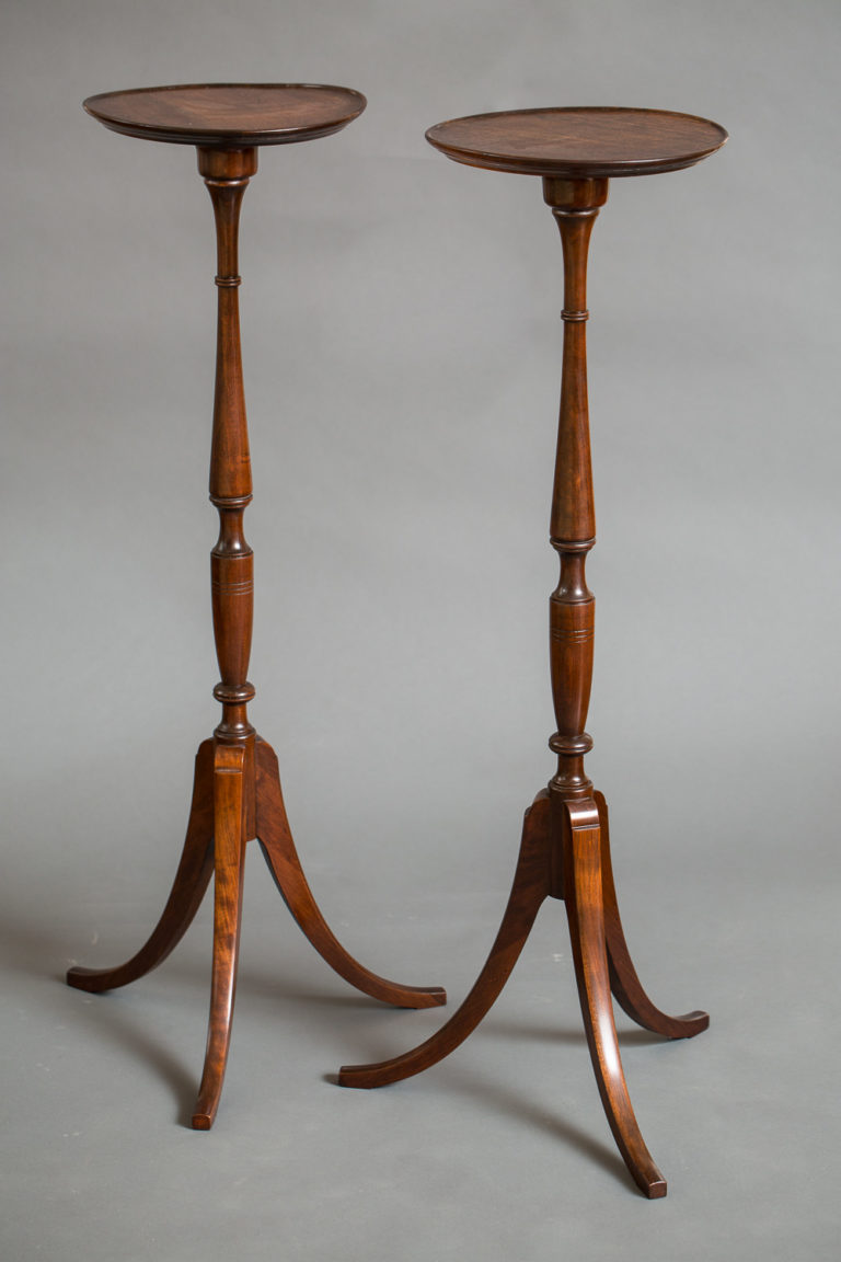 Pair of English Tall Stands