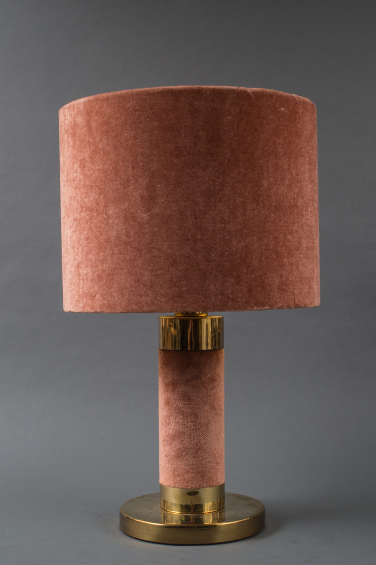Pair of Fabric Lamps