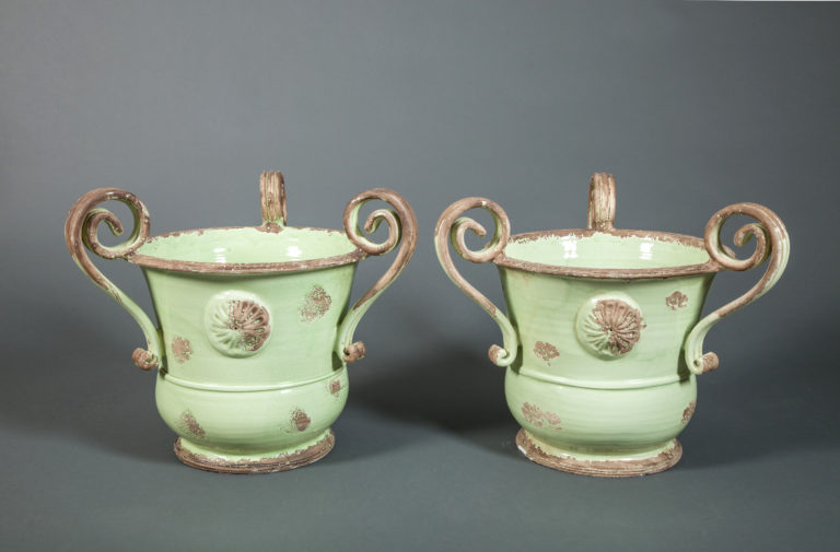 Pair of Italian Urns